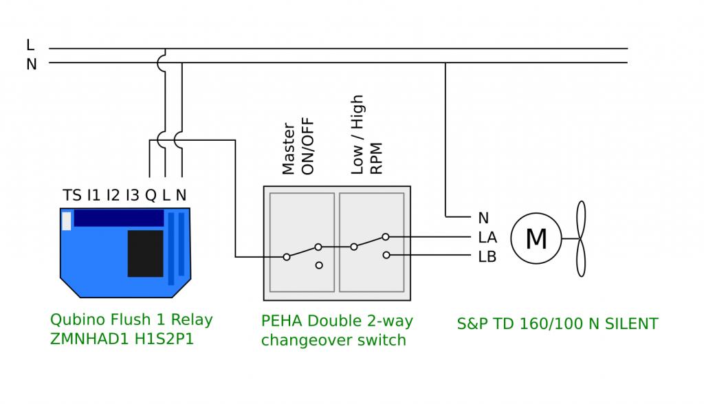 Electrical Diagram Bathroom Fan