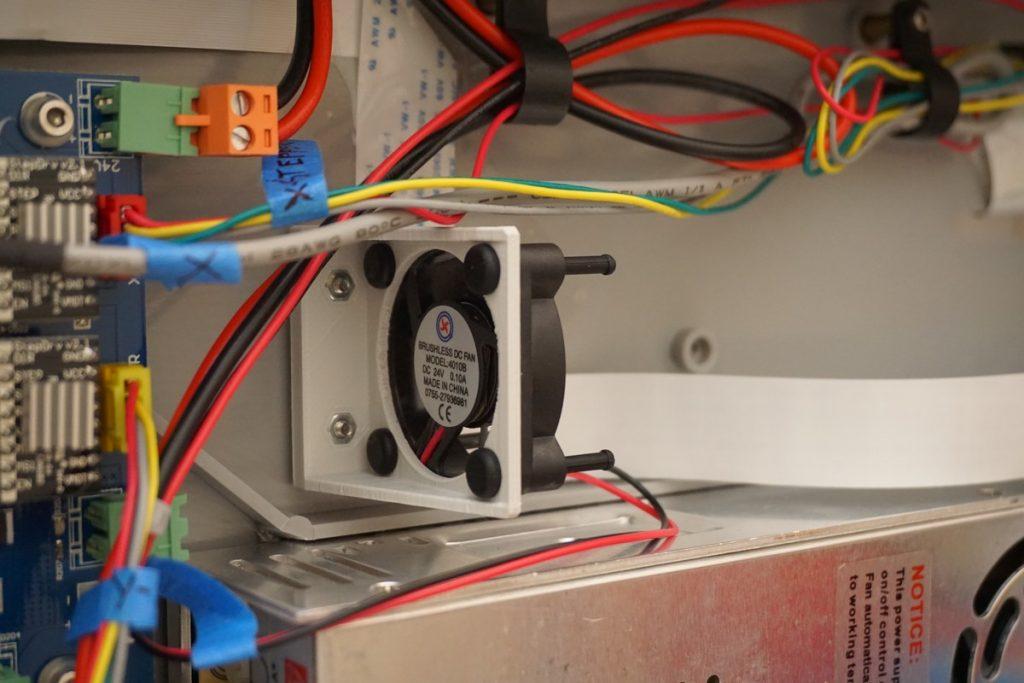 Installation of Fan Bracket in FLashforge Dreamer