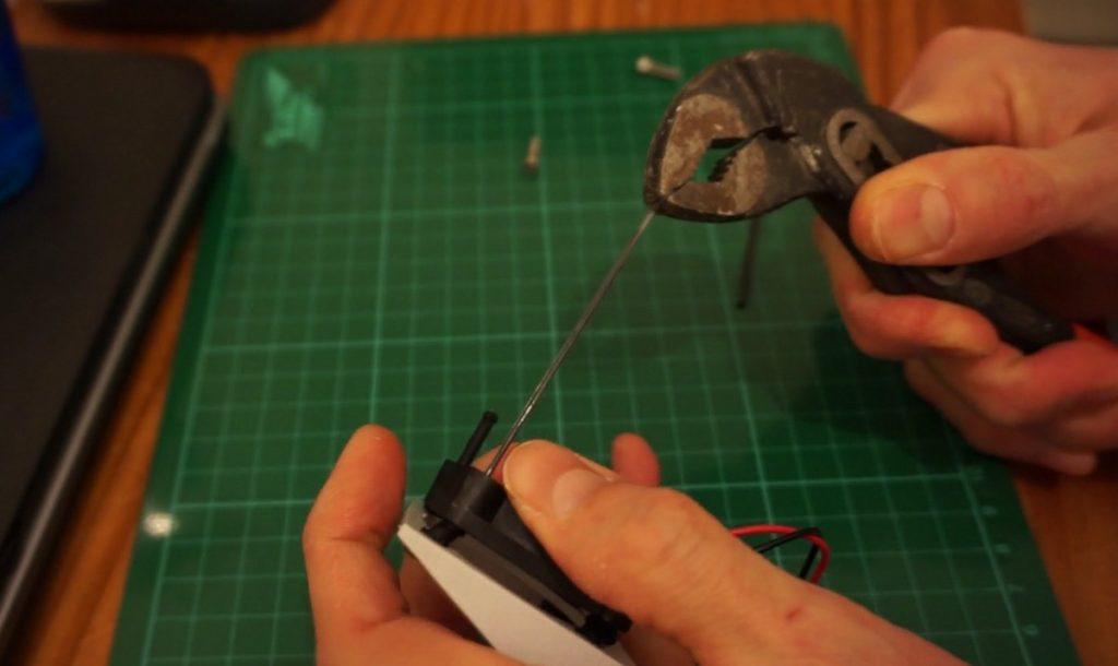 Flashforge Dreamer Modified Fan Bracket install rubber fan mounts
